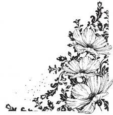 Sello de caucho A6 esquina anemone
