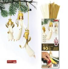 Angel 3D quilling kit white and gold