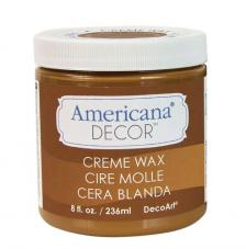 Chalky finish creme wax Golden brown 236ml
