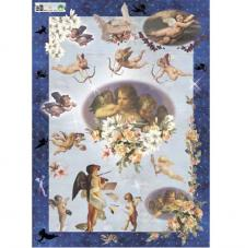 Decoupage paper 50x70 cm. model 161