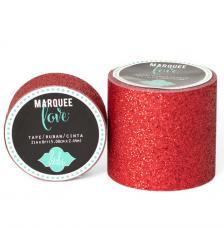 Masking Tape Gliter Marquee Love 2,2 cm. Rollo 3,5.