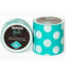 Masking Tape Marquee Love 5 cm. Rotllo 2,7 m. Mini Dots