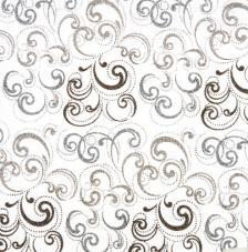 Tissu Nabucco 12 rollo 30cmx5m - negro y plata