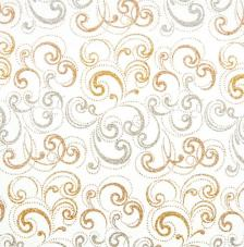 Tissu Nabucco 38 roll 30cmx5m - silber and gold