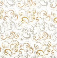 Tissu Nabucco 38 rollo 30cmx5m - plata y dorado