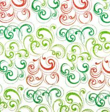 Tissu Nabucco 46 roll 30cmx5m - red and green