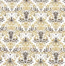 Tissu Traviatta 38 rollo 30cmx5m - negro y dorado