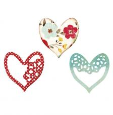 Sizzix Thinlits Set-  Alluring Hearts