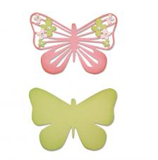 Sizzix Thinlits - Mariposa graciosa 2