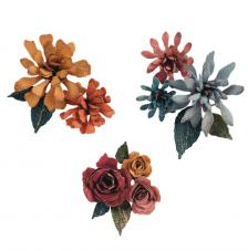 Sizzix Thinlits Set- Spiral Flowers