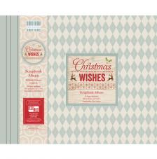 Scrapbook Album Christmas Wishes 30x30 cm
