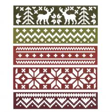 Sizzix Thinlits Set- Snowfall&Holiday