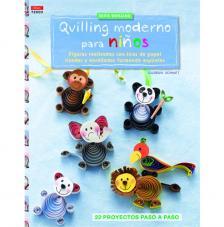 Revista quilling moderno para niños