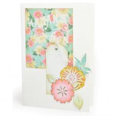 Sizzix Thinlits Set-  Flores