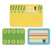 Sizzix Thinlits Die Set- My Girl