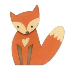 Sizzix Thinlits Die Set- Fox