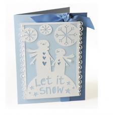 Sizzix Thinlits Die- Let it Snow