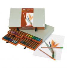 Caja madera 48 lápices de colores Bruynzeel