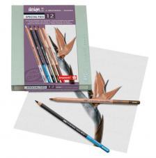 Caja madera 12 Lápices especiales Bruynzel