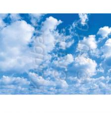 Blue Sky. Lamina A4