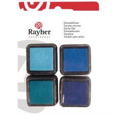 4 Mini tintas para sellos Boys
