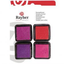 4 Mini tintas para sellos Girls