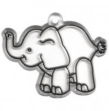 Base acrilica elefante 8x6cm