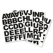Letras adhesiva bloc 5 cm. 4 hojas A4