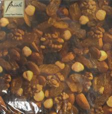 20 servilletas. Frutos secos