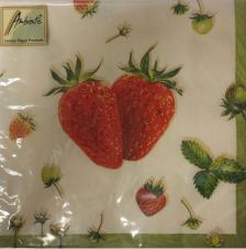 20 servilletas. 2 fresas