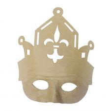 Mascara carnaval 8x252x24,5 cm. Modelo 309
