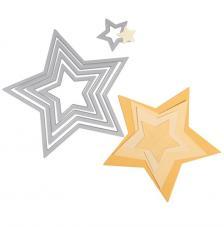 Troquel Framelit Sizzix. 5 estrellas