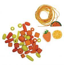 Kit cocktail brazalete naranja