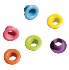 100 Eyelets Redondo 5 mm. Colores 3