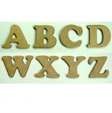 Letras mayúsculas 1,6 cm