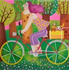 Paseo en Bici de Leandro Lamas. 2 medidas disponibles