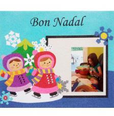 Memory Bon Nadal 2. 30x25 cm
