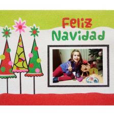 Memory 3 Árboles Feliz Navidad. 30x25 cm