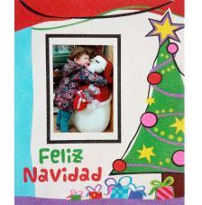 Memory Arbol Feliz Navidad. 25x30 cm