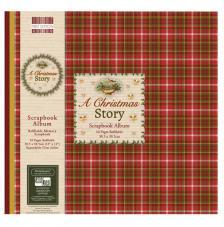 Scrapbook Album Christmas Story 30,5x30,5 cm