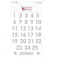 Advent números Plata Christmas Basics