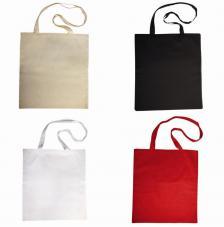 Bolsa de algodón 38x42 cm. 4 colores