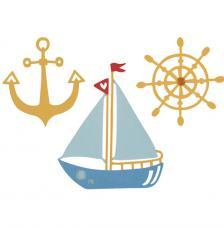 Sizzix Thinlits - Shipmates