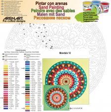 Mandala 12. 2 medidas