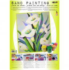 Sand Painting Lirios