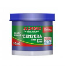Témpera escolar Alpino 40 ml. Gama 10 colores