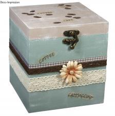 Caja madera 12,5x12,5x15,5 cm