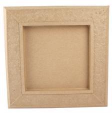 Marco carton gravado 33x33x3,5cm
