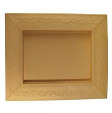 Marco cartón gravado 31,5x37,5x2,5 cm