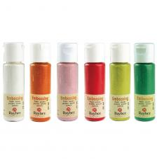 Polvos de embossing 20 ml. 20 colores